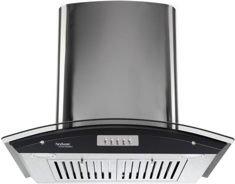 Hindware Delfina Plus 60 CM Wall Mounted Chimney(Inox 1100)