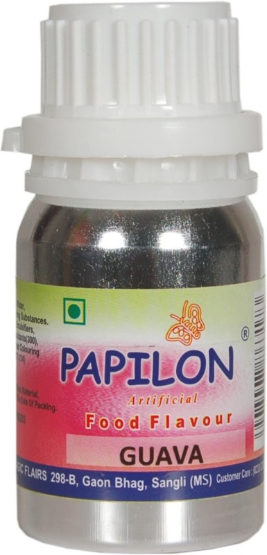 Papilon Concentrated Artificial Food Flavour, GUAVA 50 ml Mixed Fruit Liquid Food Essence(50 ml)