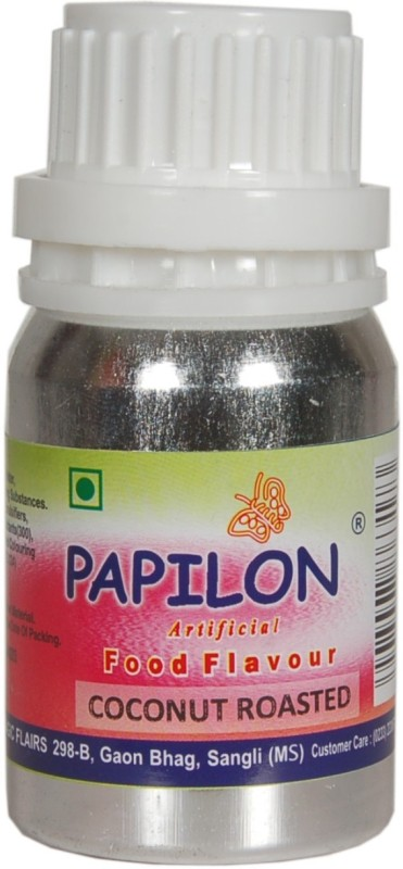 Papilon Concentrated Artificial Food Flavour, Coconut Roasted (O.S.)50 ml Coconut Liquid Food Essence(50 ml)