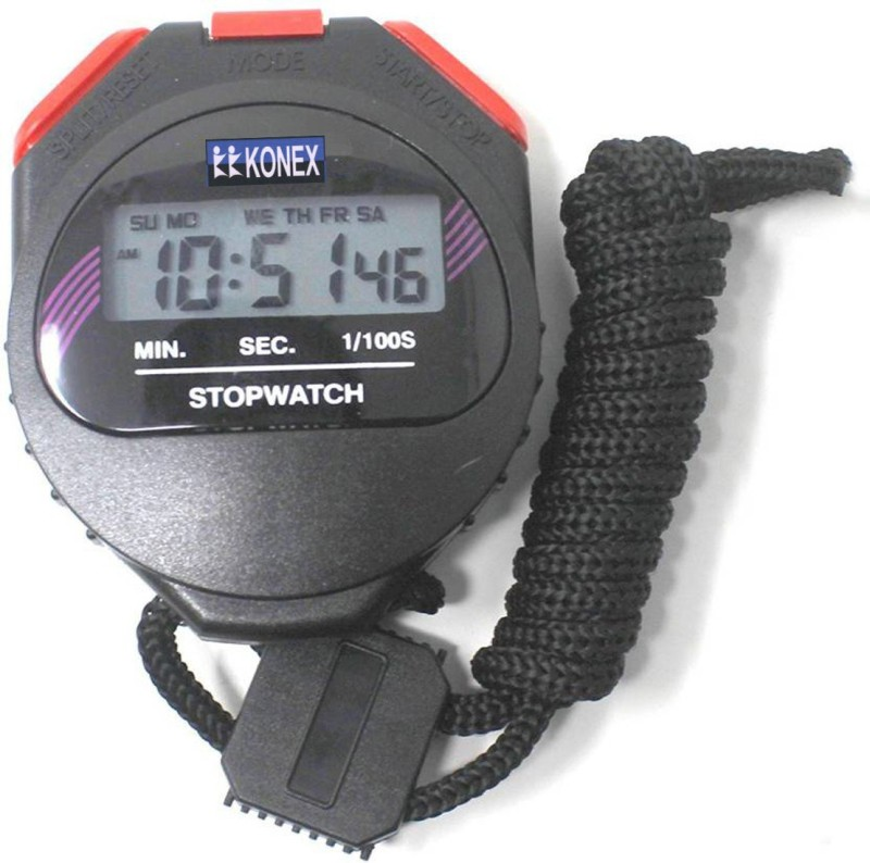 Konex S636 Digital Stop Watch(Black)