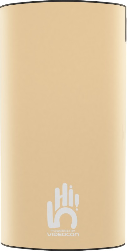 Videocon 10000 mAh Power Bank (VH-0B100P02)(Rose Gold, Lithium Polymer)