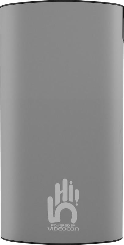 Videocon 10000 mAh Power Bank (VH-0B100P02)(Grey, Lithium Polymer)