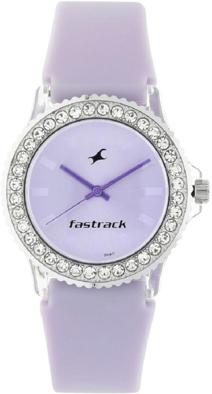 Fastrack Purple Dial Watch For Girls