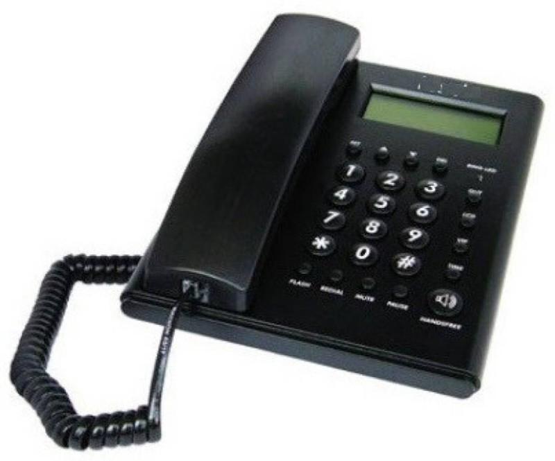 Beetel C51 M-BEETEL Corded Landline Phone�(Black) Corded Landline Phone(Black)