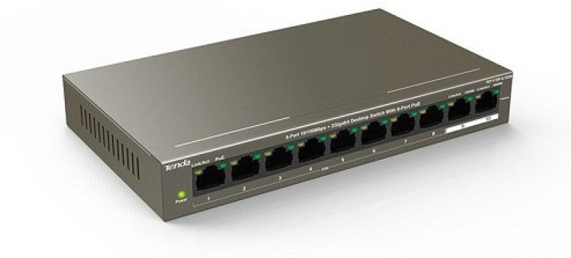 TENDA TEF1110P-8-102W Network Switch(Black) image