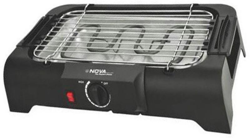 Nova BBQ 463 Electric BARBEQUE Open Grill(Black)