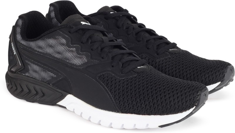 Puma IGNITE Dual Mesh Wn s Running Shoes For Women(Black)