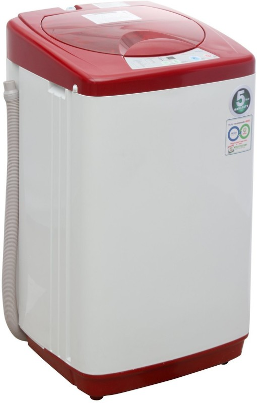 Haier 5.8 kg Fully Automatic Top Load Washing Machine Red(HWM58-020-R)