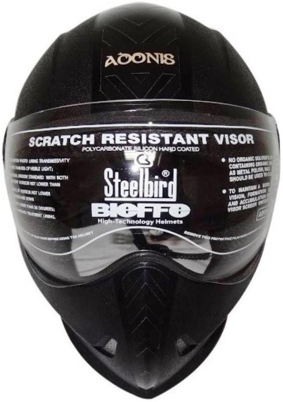 Steelbird ADONIS DASHING Motorsports Helmet(Black)