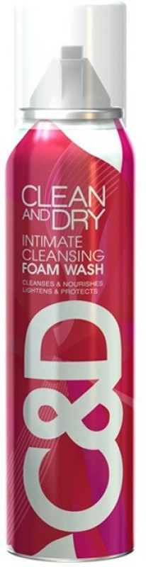 Midas Care Clean and dry Foam Intimate Wash(85 g, Pack of 1)