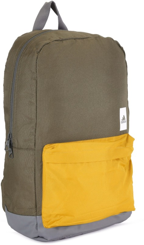 ADIDAS A.CLASSIC M BLO 25 L Backpack(Yellow, Green)