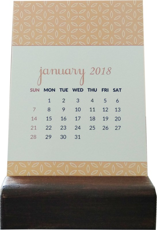 Chambers of Ink Boxed Reversible Quote Calendar 2018 Table Calendar - Best Price
