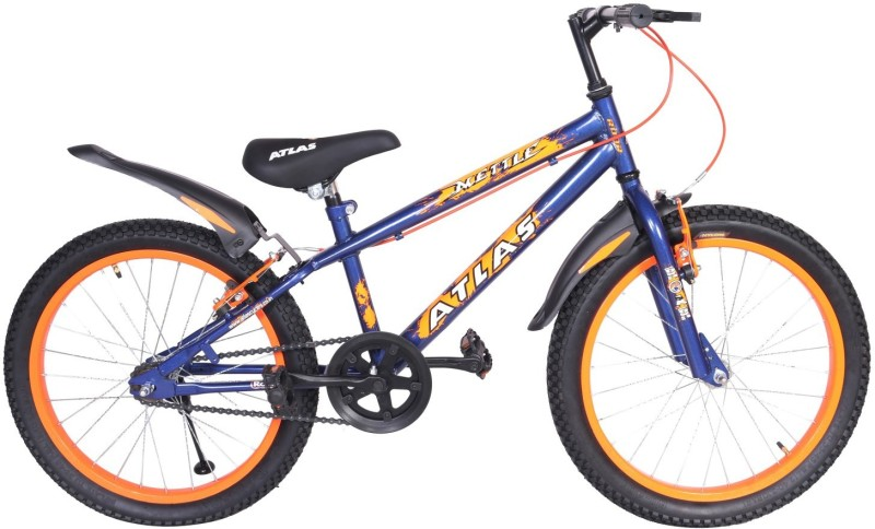927e75c394b 20%off Atlas Mettle Sports Bike For Kids Age Of 7-9Yrs Blue&Orange 20 T  Single Speed