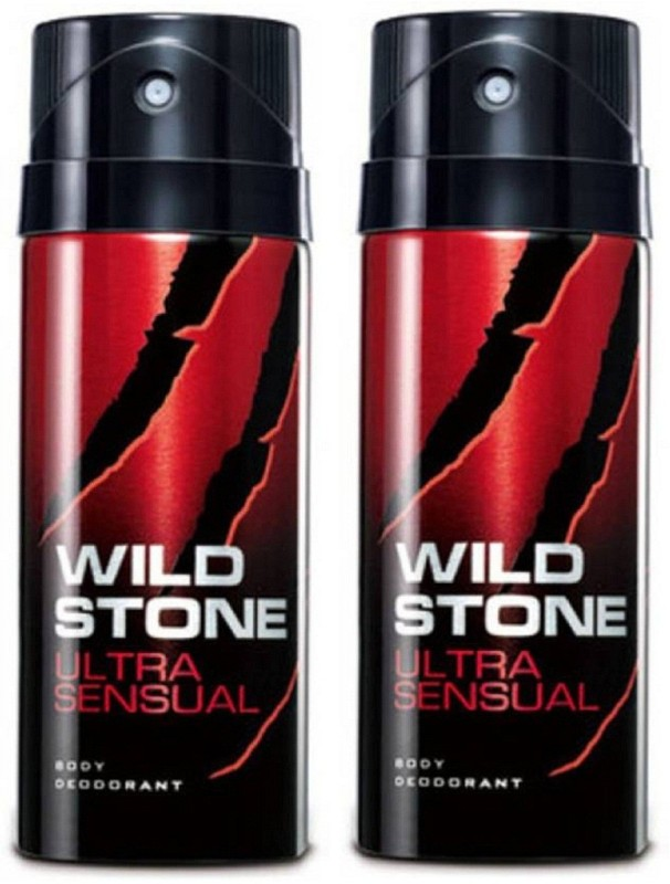 Wild Stone Ultra Sensual Deodorant Spray Pack of 2 Combo (150ML each) Deodorant Spray - For Men(300 ml, Pack of 2)