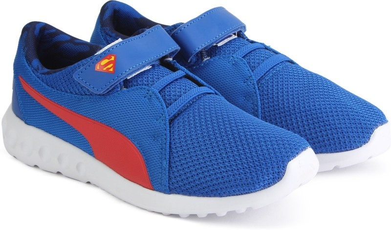 Puma Boys & Girls Velcro Sneakers(Blue)