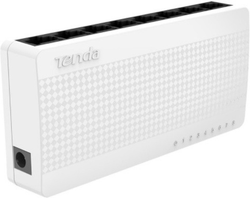 TENDA S108 Network Switch(White) image