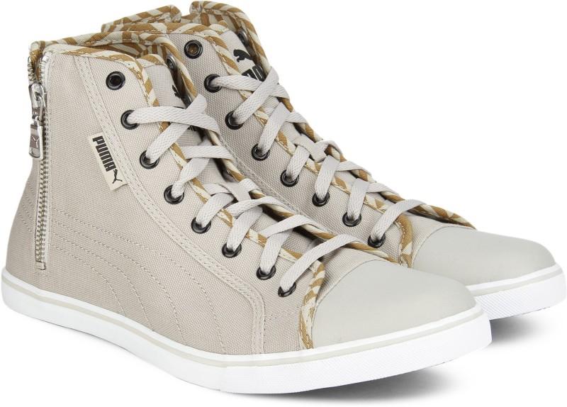 Puma Puma Streetballer Mid Zip IDP Sneakers For Men(Beige)