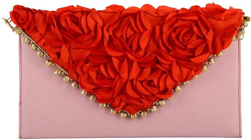 Tooba Handicraft Red, Pink Sling Bag