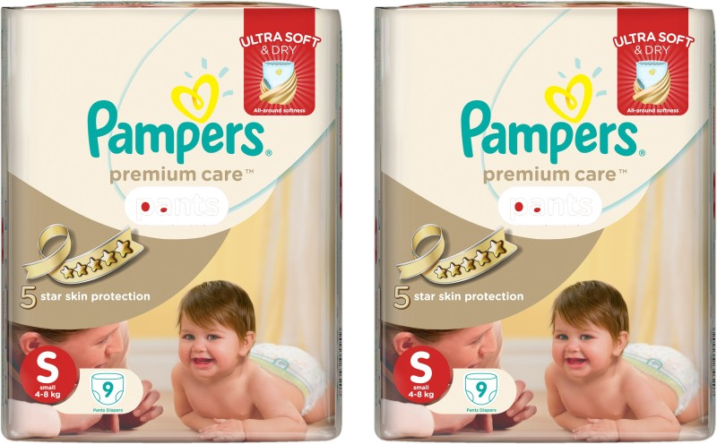 Pampers premium care - S(18 Pieces)