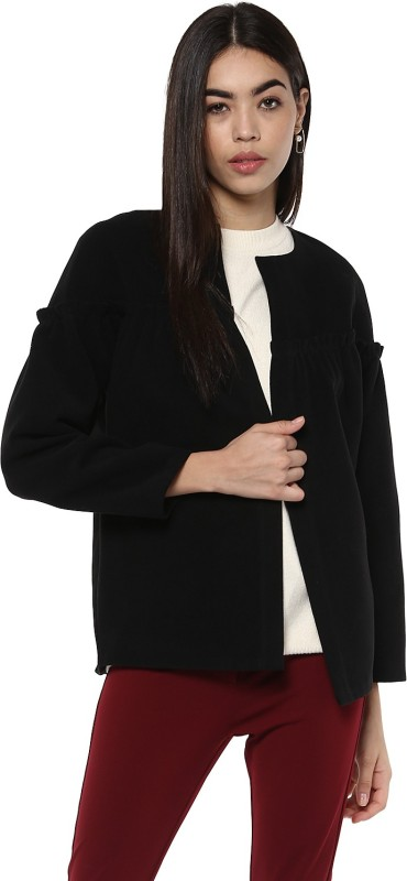 Kazo Full Sleeve Solid Women Jacket