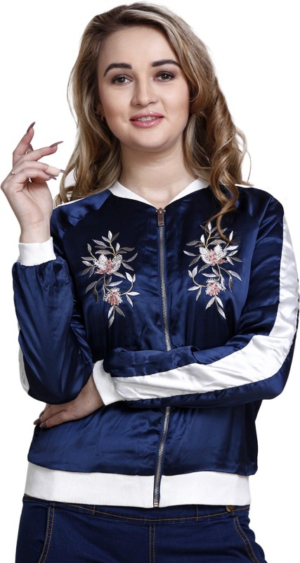 MansiCollections Full Sleeve Embroidered Womens Jacket