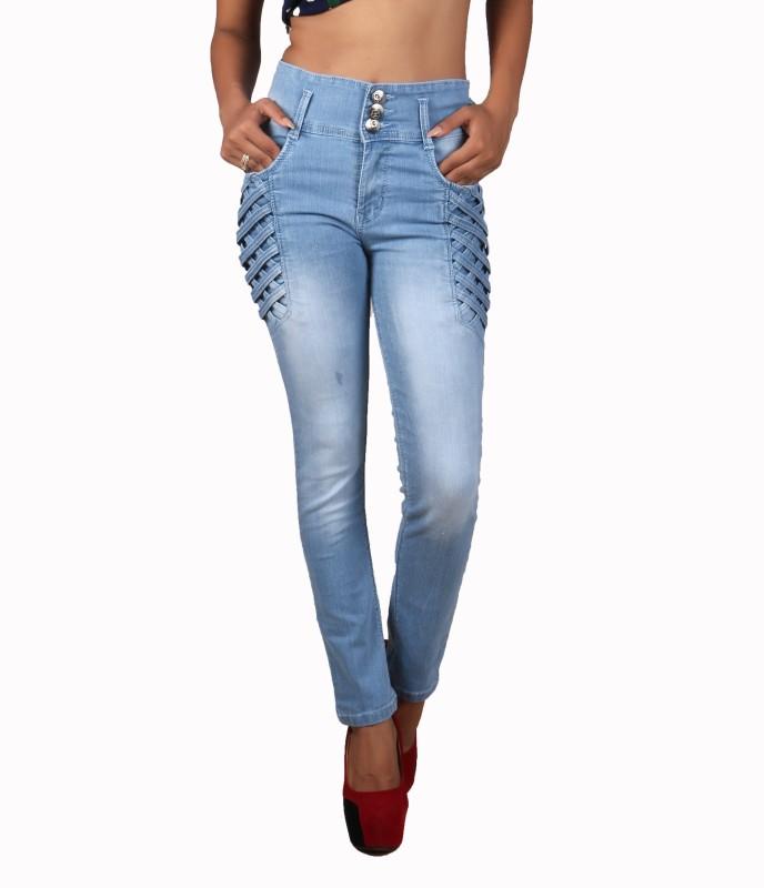 Mystix Slim Women Light Blue Jeans