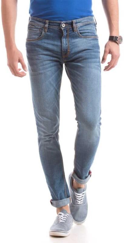 Izod Slim Men Light Blue Jeans