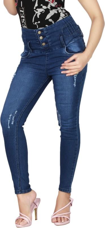 Mystix Slim Women Dark Blue Jeans