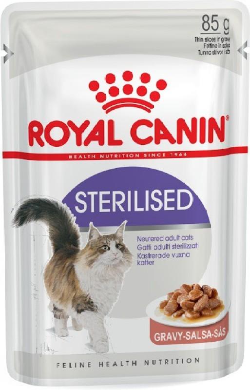 Royal Canin Sterilised 1.02 kg Wet Cat Food(Pack of 12)