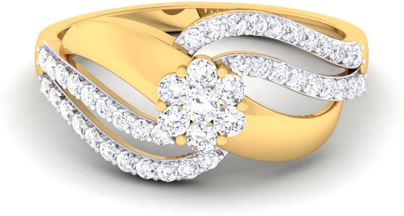 Jisha The Taashi 18kt Diamond Yellow Gold ring