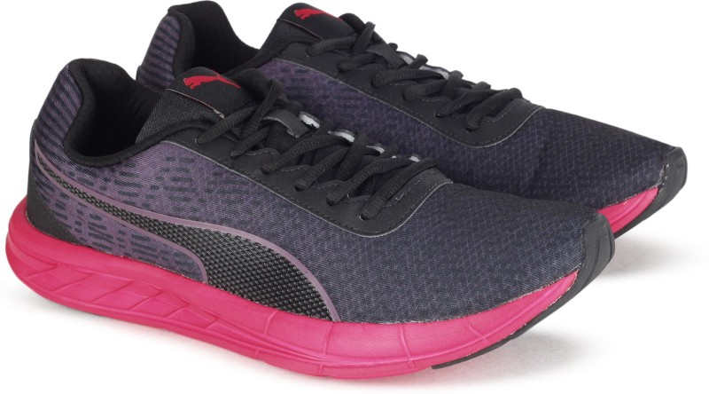 Puma Comet Wn s IDP Running Shoes For Women(Black, Pink)