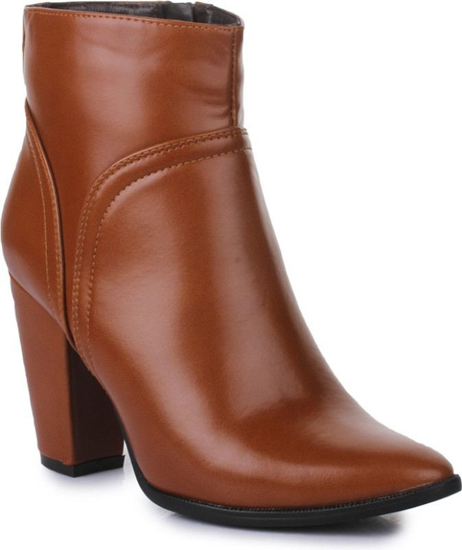 Bruno Manetti BM-BT-001 Boots For Women(Tan)