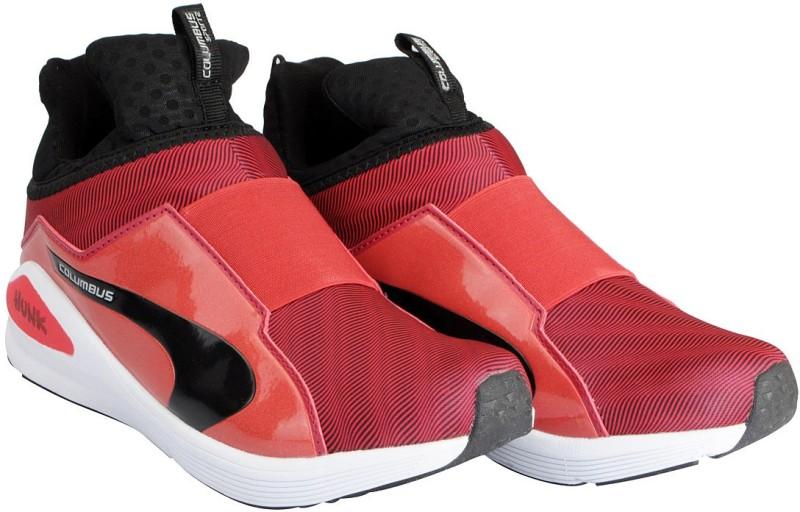 Columbus Mens Running Shoes For Men(Red, Black)