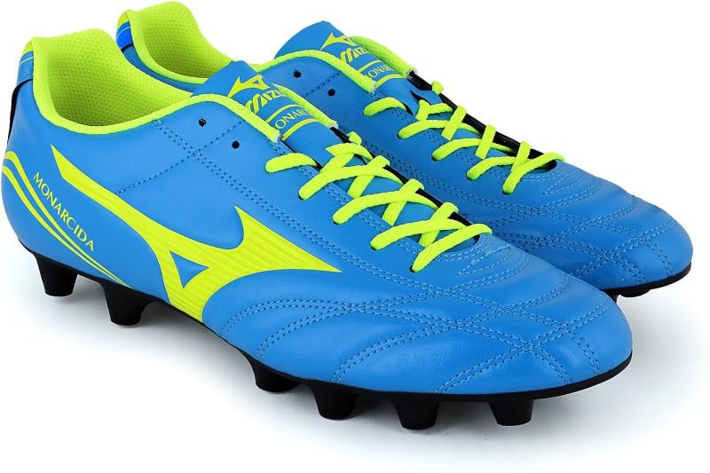 Mizuno MONARCIDA FS AS Football Shoes For Men(Green, Blue)
