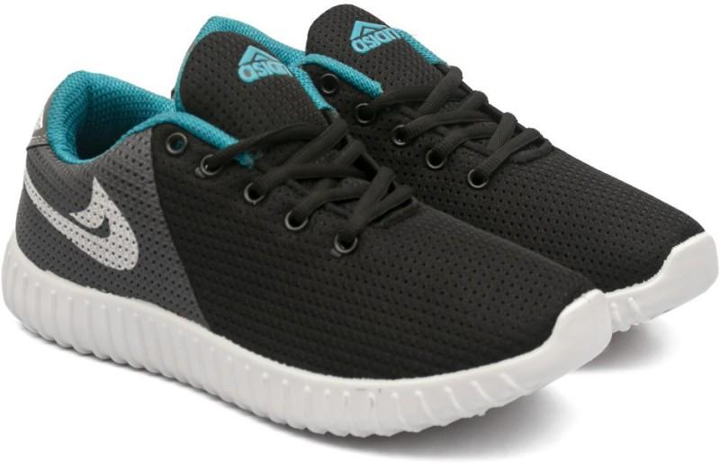 Asian BOUNCE-21 Walking Shoes For Men(Black)