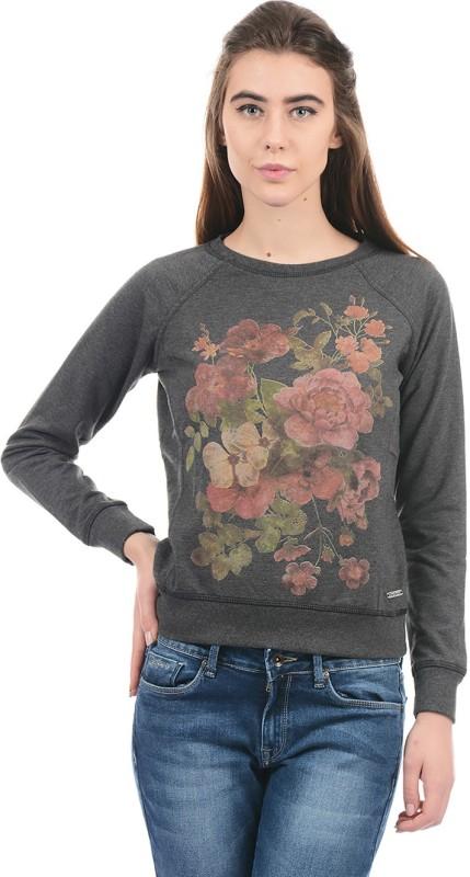 Pepe Jeans Full Sleeve Floral Print Women Sweatshirt