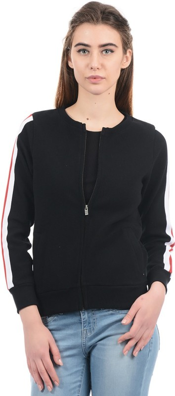 Pepe Jeans Full Sleeve Solid Women Sweatshirt