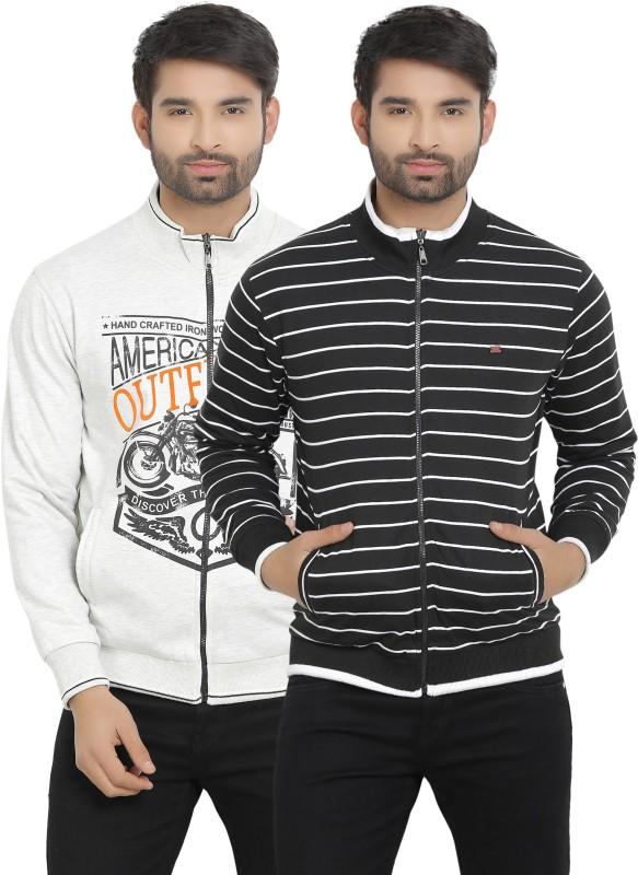 Duke Full Sleeve Printed Mens Reversible Sweatshirt