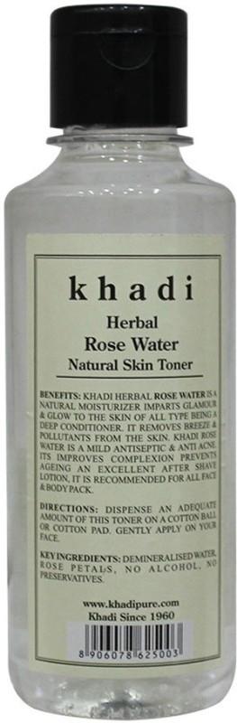Khadi Herbal Rose Water(210 ml)