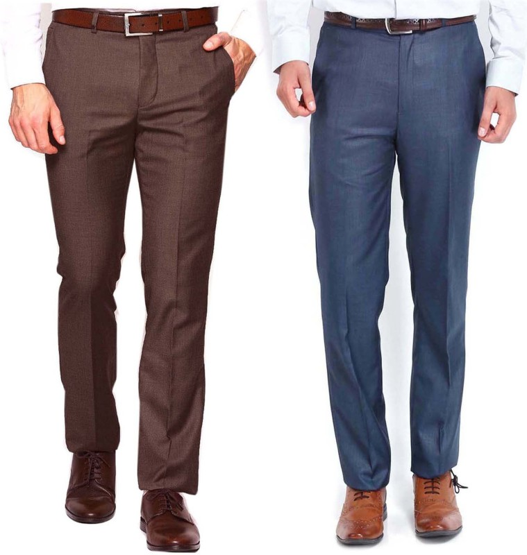 AD & AV Regular Fit Men's Multicolor Trousers