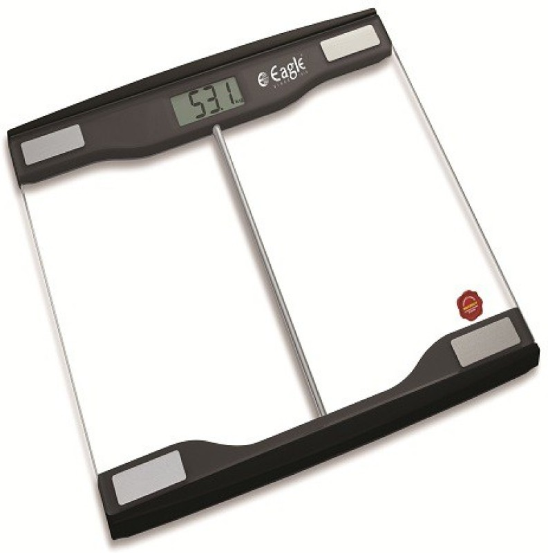 Eagle Electronic Personal Weighing Scale,Black Weighing Scale(Black)