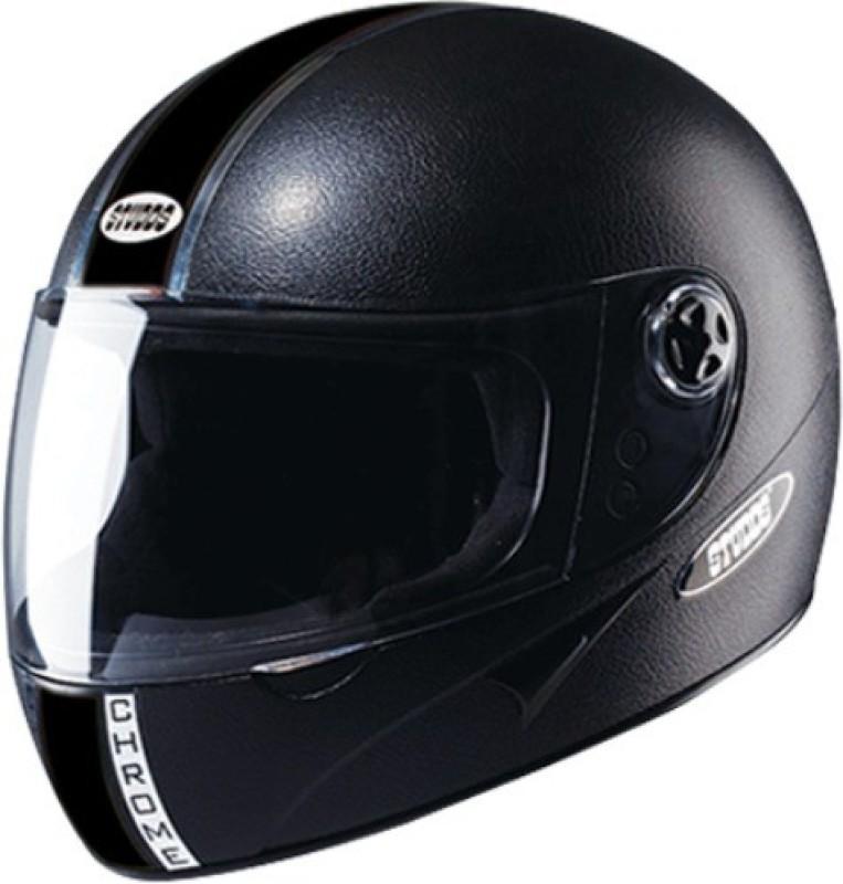 Studds CHROME ECOINOMY Motorsports Helmet(Black)