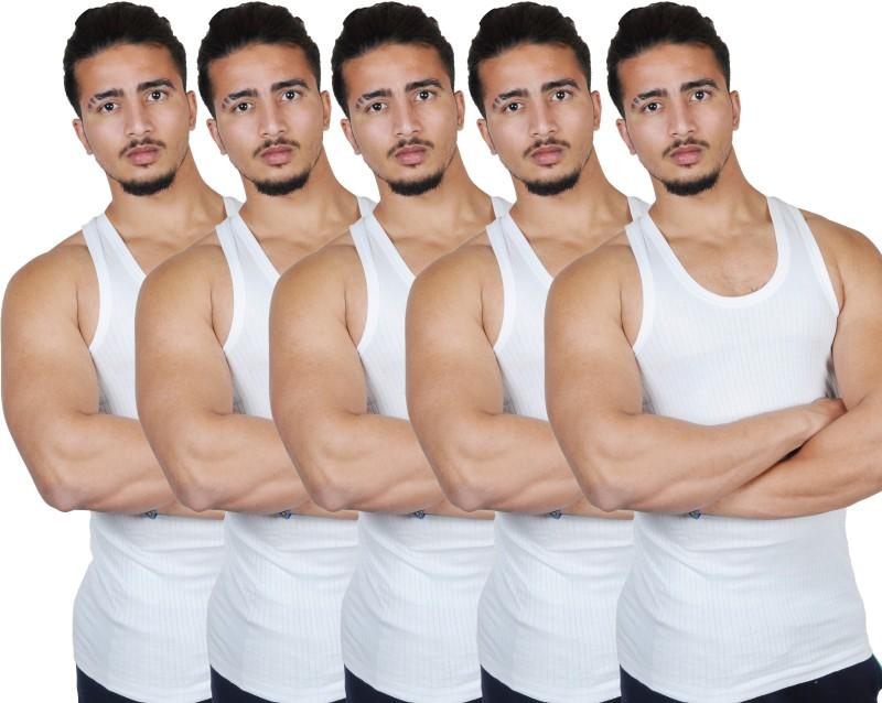 Go Yoga Men's Vest(Pack of 4)