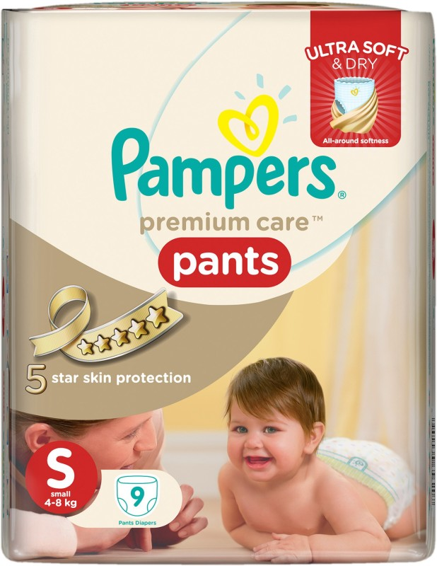 Pampers premium care - S(9 Pieces)