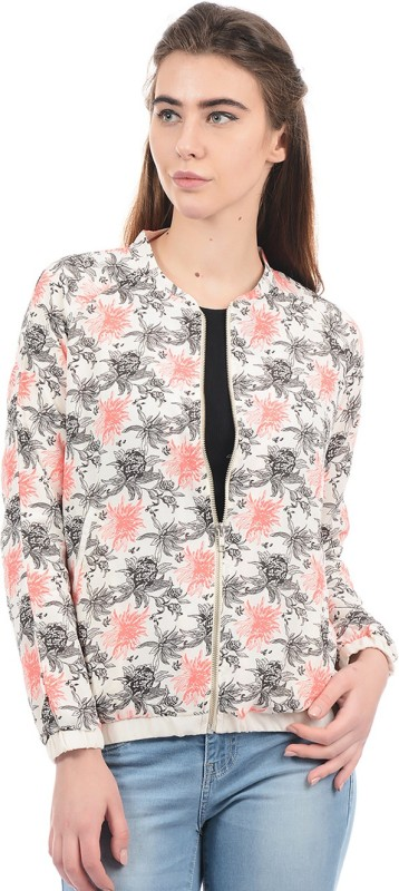 Pepe Jeans Full Sleeve Floral Print Women Jacket