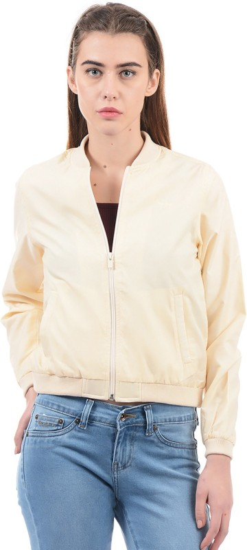 Pepe Jeans Full Sleeve Solid Women Jacket