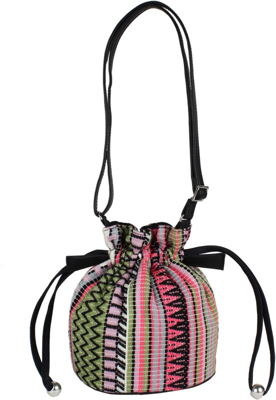 Tash Creations Sling Bag Potli(Multicolor)