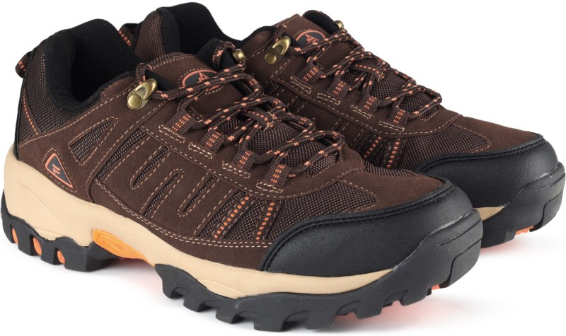 Fila ISLAND Outdoor Shoes For Men(Black, Brown)