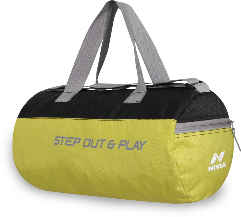 Nivia Beast Gym Bag -3 Gym(Green, Kit Bag)