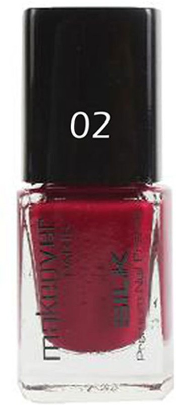 Makeover Professional Nail Paint Hot Red-02 Hot Red-02(9 ml)